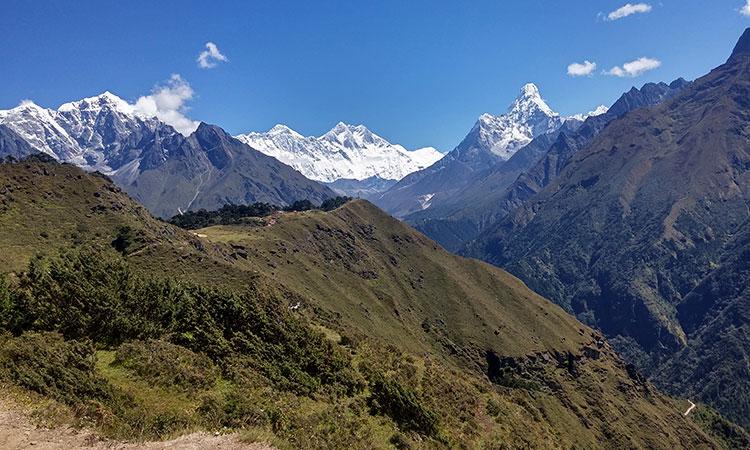 Amadablam view