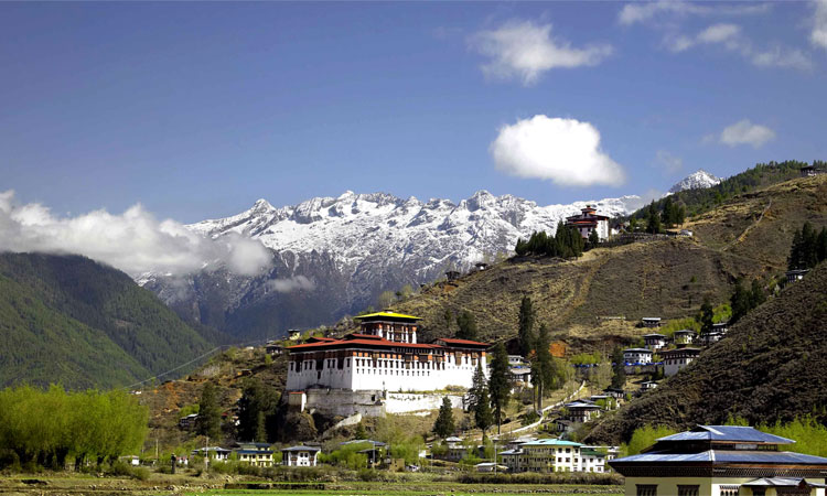 Jomolhari Mountain & Monasteries