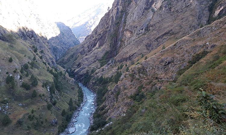 Way to Manaslu Trek