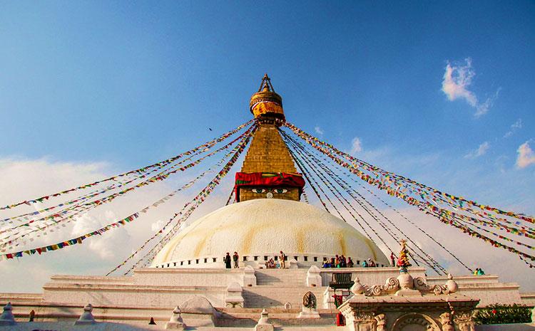 Baudhanath-Stupa